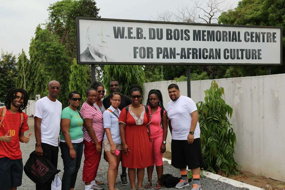 The eMPA Program traveled to the W.E.B. DuBois Memorial Centre for Pan-African Culture in Accra, Ghana in 2014.