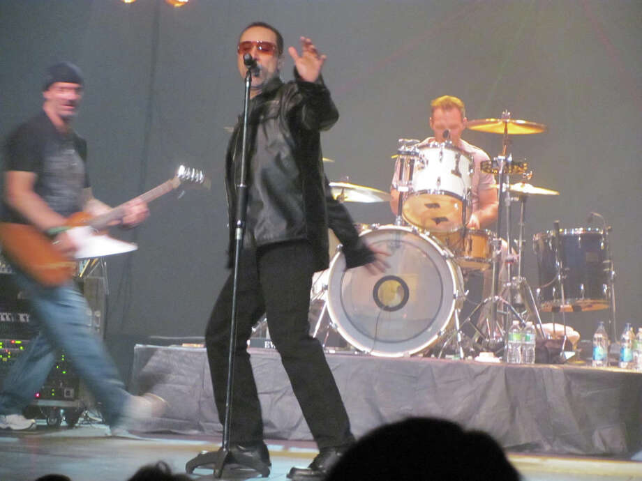 The U2 tribute band 2U is set to play the Downtown Cabaret Theatre in Bridgeport on Nov. 2. It is just one of many popular tribute acts booked to play Fairfield County this fall. Photo: Contributed Photo / Connecticut Post Contributed