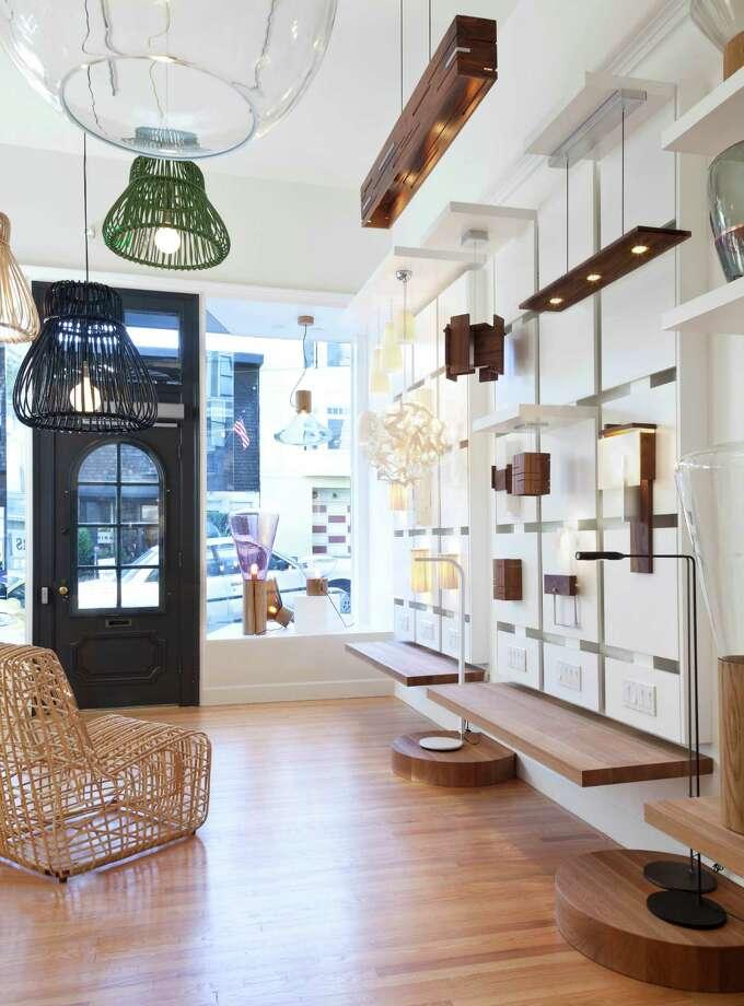 Bright on Presidio, a new lighting shop in San Francisco, focuses on European designs. Photo: Bright On Presidio / ONLINE_YES