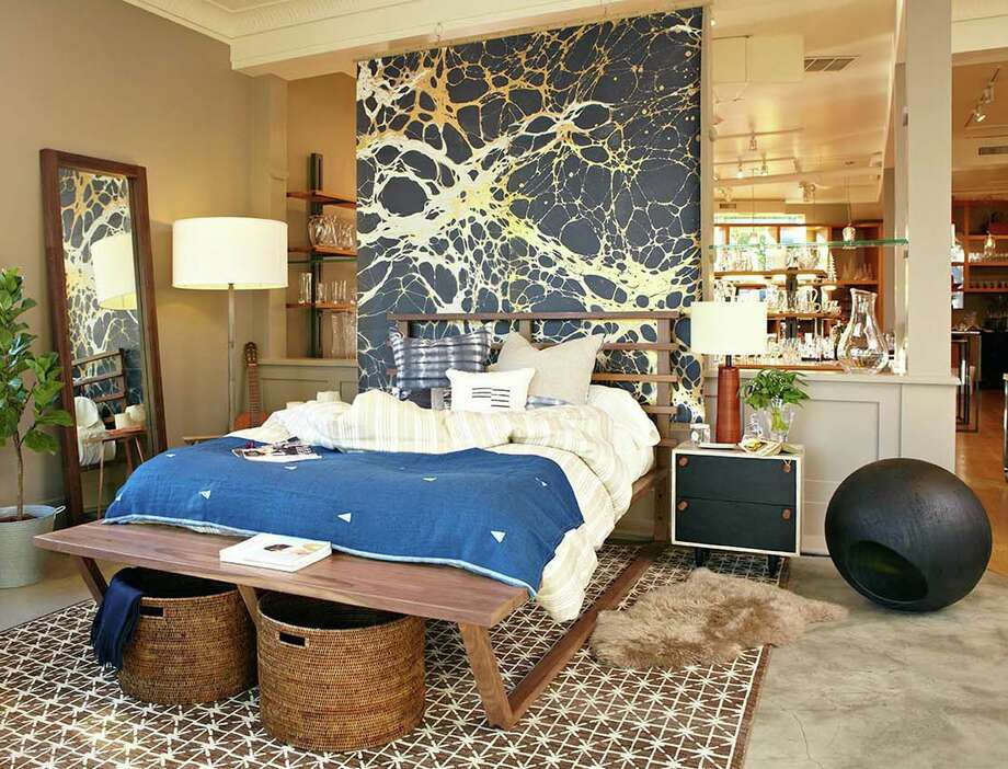 The newly launched online marketplace for furniture, lighting and home décor, WorkOf, is staging an installation at the Simon Pearce showroom, 125 E. Putnam Ave. in Greenwich, Conn. this month. Photo: Contributed Photo / Greenwich Time Contributed