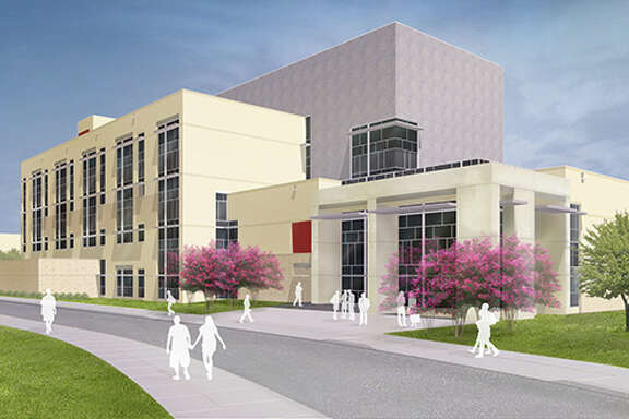 A rendering of the University of Houston's planned Multidisciplinary Research and Engineering Building.