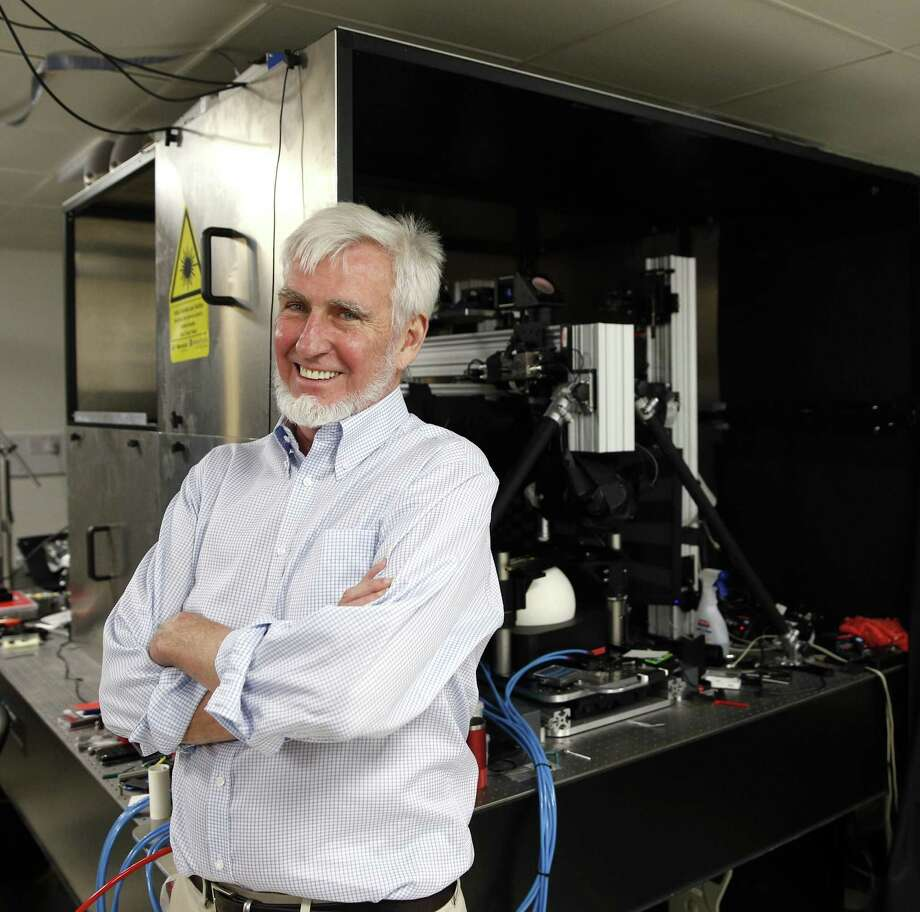 """British-American researcher John O'Keefe helped discover an """"inner GPS"""" in the brain. Photo: Adrian Dennis / Getty Images / AFP"""
