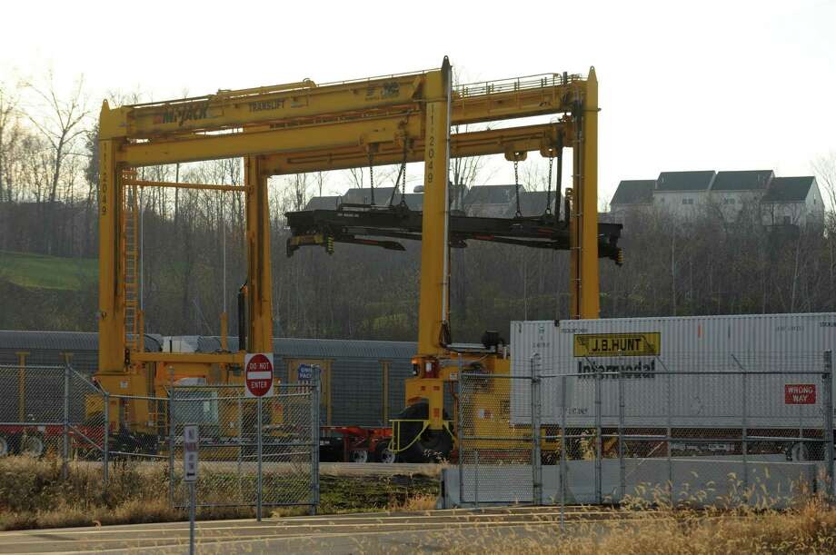 The intermodal rail yard in Mechanicville, N.Y. (Times Union archive) Photo: Michael P. Farrell