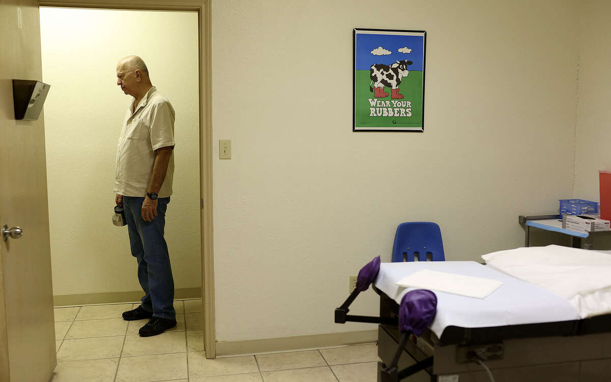Dr. Lester Minto of Harlingen was one of the abortion providers affected by the strict new state law.