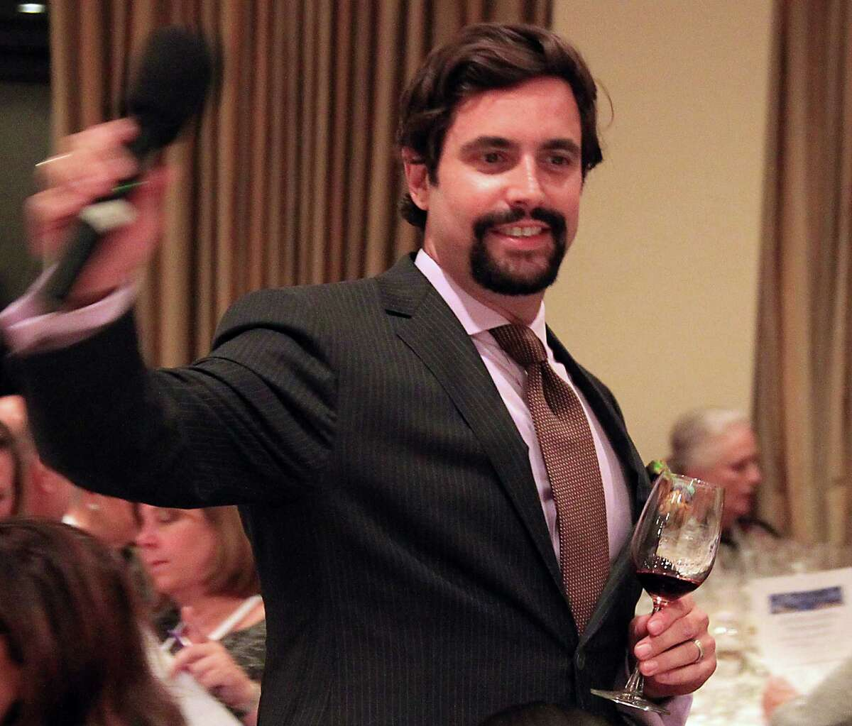 Fleming's Prime Steakhouse & Wine Bar sommelier Sam Governale during the Periwinkle Foundation's