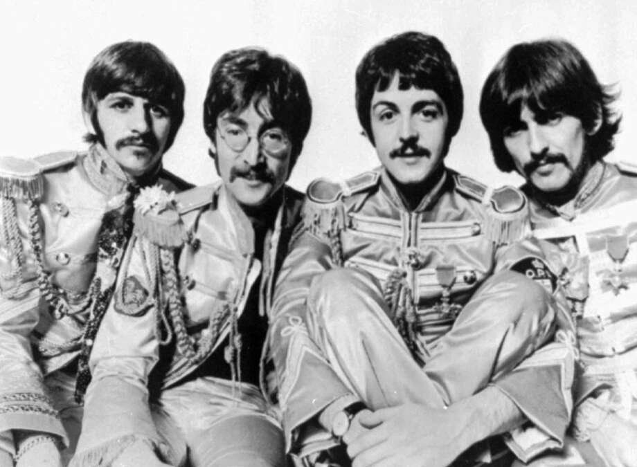 """""""With a Little Help From My Friends"""" — """"Sgt. Pepper"""" tune is usually the big finish Photo: Anonymous, ASSOCIATED PRESS / Associated Press"""