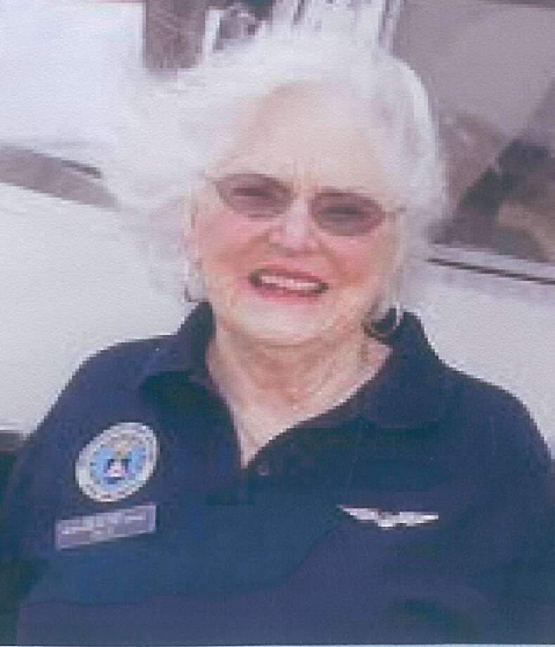 During World War II, Jayne Pace flew as a Civil Air Patrol pilot and was recognized for meritorious non-combat service. She'll receive a Congressional Gold Medal in Washington, probably in December or January. Photo: Courtesy Jayne Pace