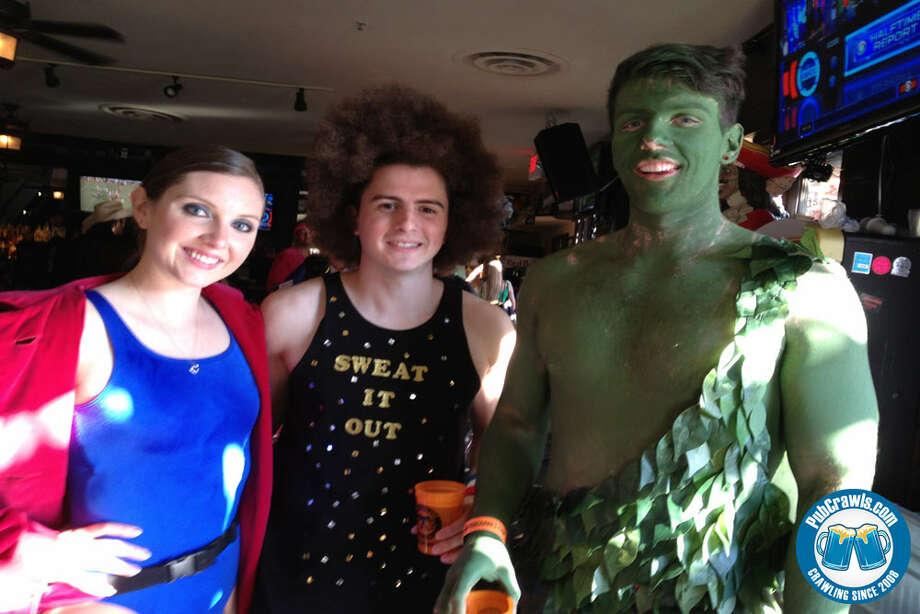 Midtown will be the site for a four-day Halloween Pubcrawl, which starts Oct. 25. Photo: Photos Courtesy Of Pubcrawls.co