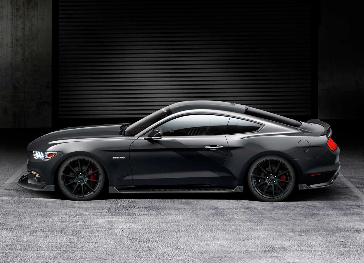 Hennessey Performance's new 2015 HPE700 Ford Mustang GT