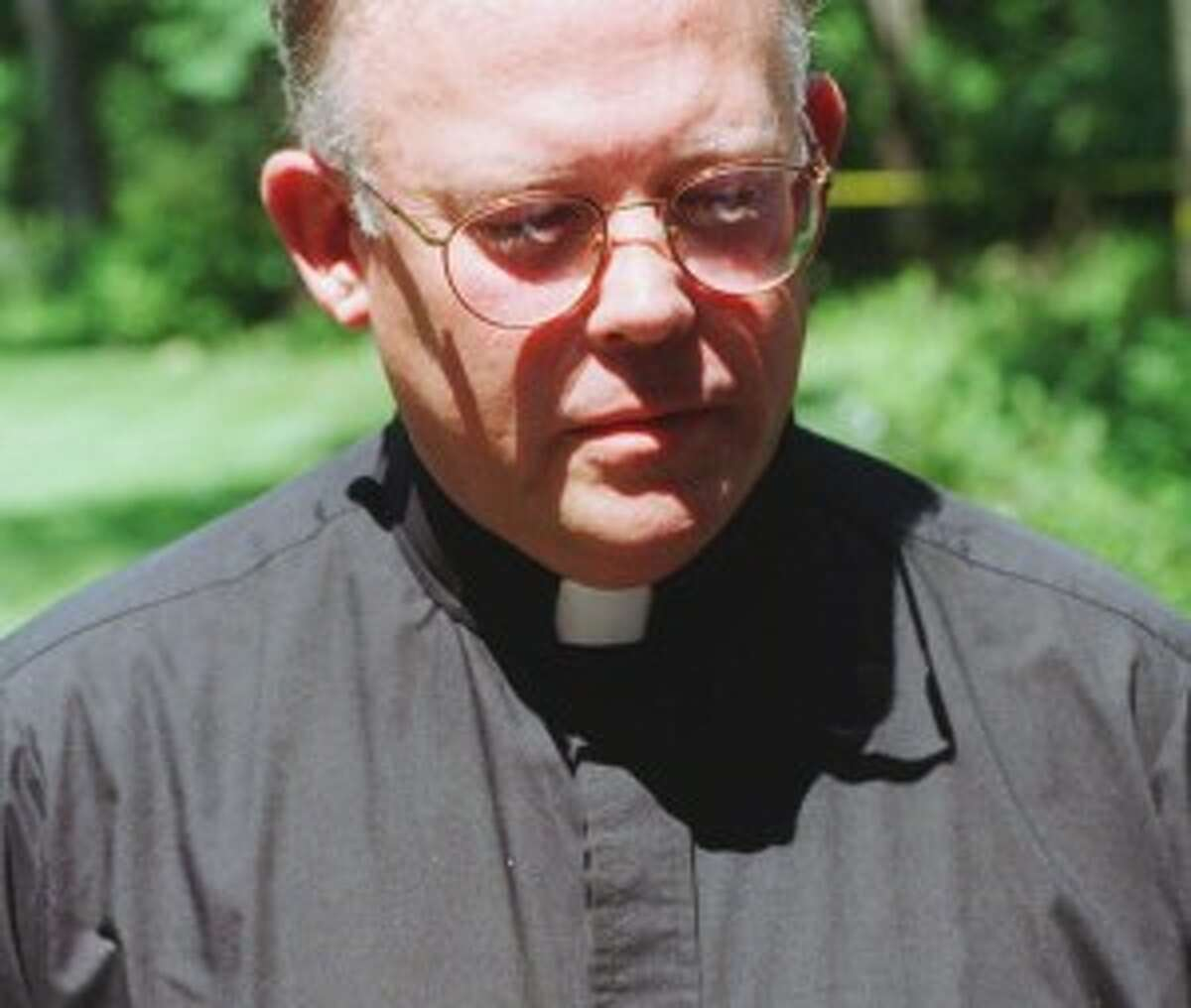 Father Robert Morrissey, of Saint Mary's Church in Ridgefield, Conn., on Thursday, July 18, 1996. (AP file Photo/Douglas Healey)