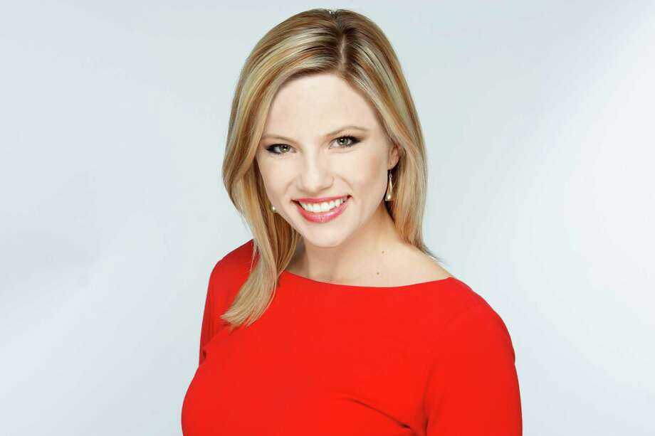 Jessica Headley wears a variety of hats at WOAI/KABB, but her main job is as traffic anchor for both San Antonio's NBC and Fox affiliates. Photo: Courtesy Jessica Headley / San Antonio Express-News