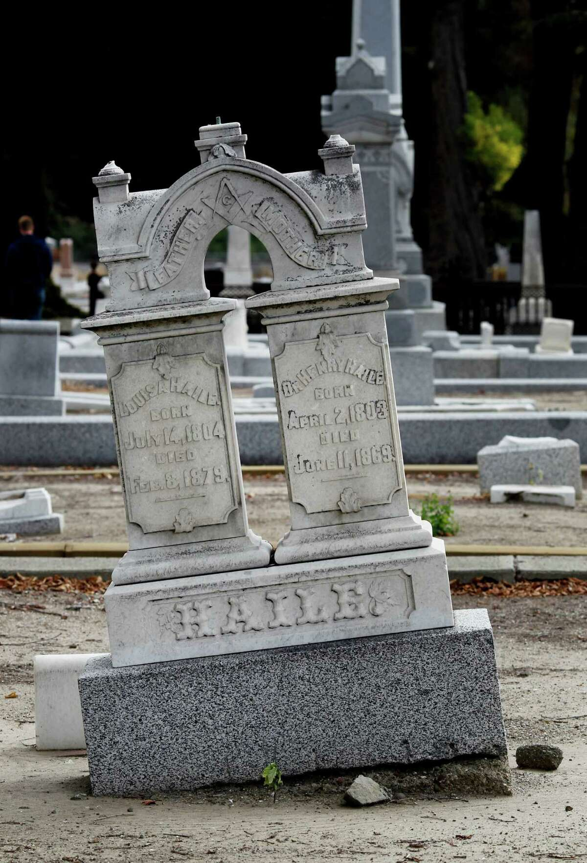 Local historians believe that decaying caskets underground at the San Lorenzo Pioneer Cemetery can shift monuments and grave markers. The cemetery has been closed for decades, but a group is trying to restore it. Its members lead paranormal tours to raise funds and talk about strange deaths at the cemetery and nearby McConaghy House.