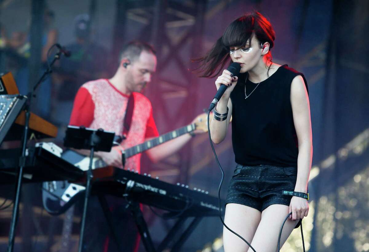 Chvrches: The Scottish electronic trio surely picked up many new fans with an energetic set. Vocalist Lauren Mayberry's pixie voiced electropop had the giant crowd dancing, and the Friday afternoon set seemed to rev up the festival for the rest of the weekend.