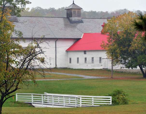 The barn complex at the Shaker Heritage Society Saturday Oct. 4, 2014, in Colonie, NY.  (John Carl D'Annibale / Times Union) Photo: John Carl D'Annibale / 10028895A