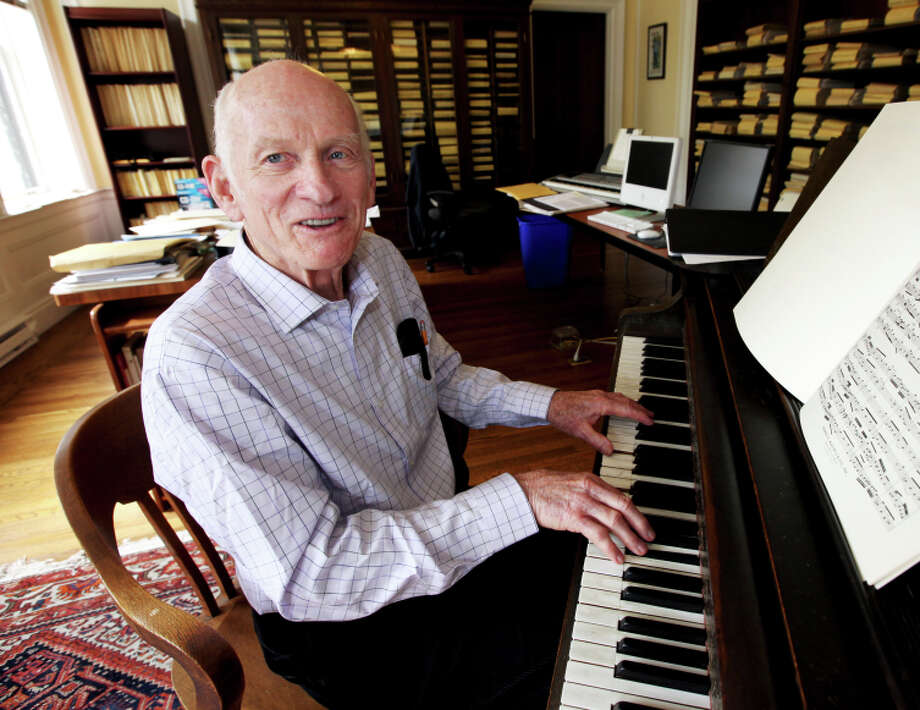Alden Gilchrist was hired as the organist at San Francisco's Calvary Presbyterian Church in 1951. Photo: Tim Maloney / The Chronicle / ONLINE_YES