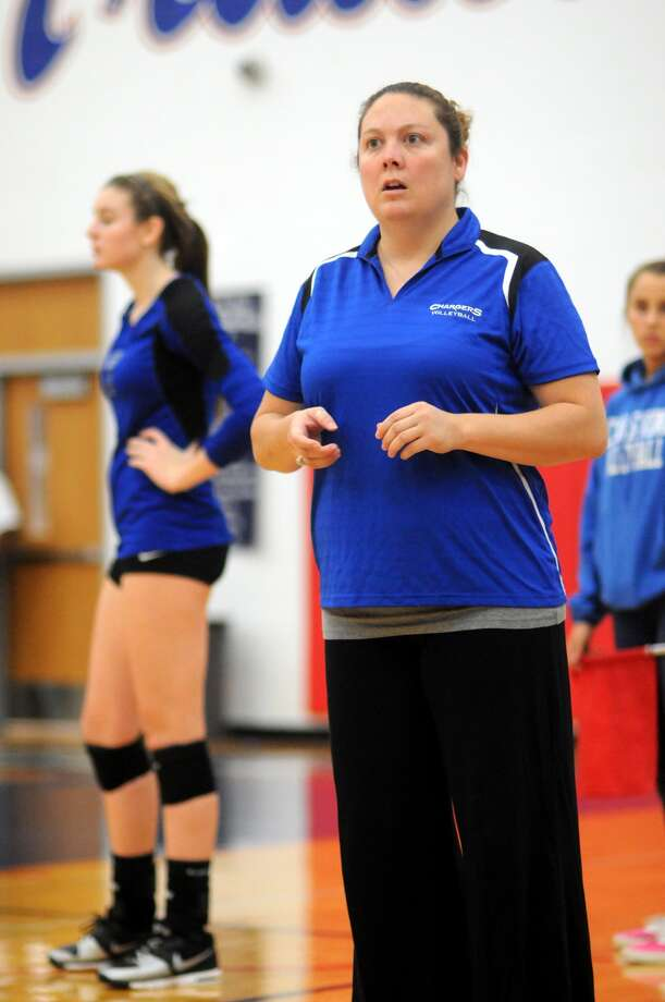 Clear Springs volleyball coach Shannon Garner has the Chargers in the thick of the playoff race. Photo: Jerry Baker, Freelance
