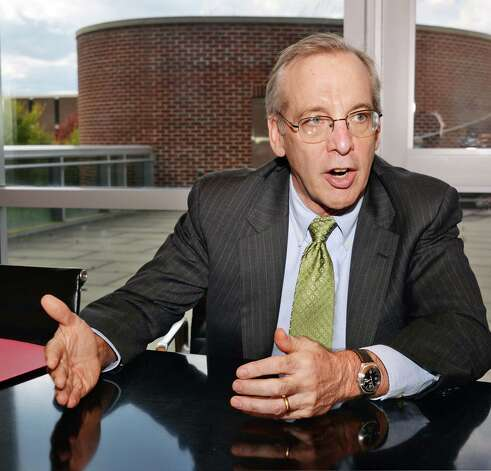 NY Federal Reserve president William Dudley is interviewed by the Times Union before speaking at RPI about the regional economy upstate Tuesday, Oct. 7, 2014, in Troy, N.Y.  (John Carl D'Annibale / Times Union) Photo: John Carl D'Annibale / 10028904A