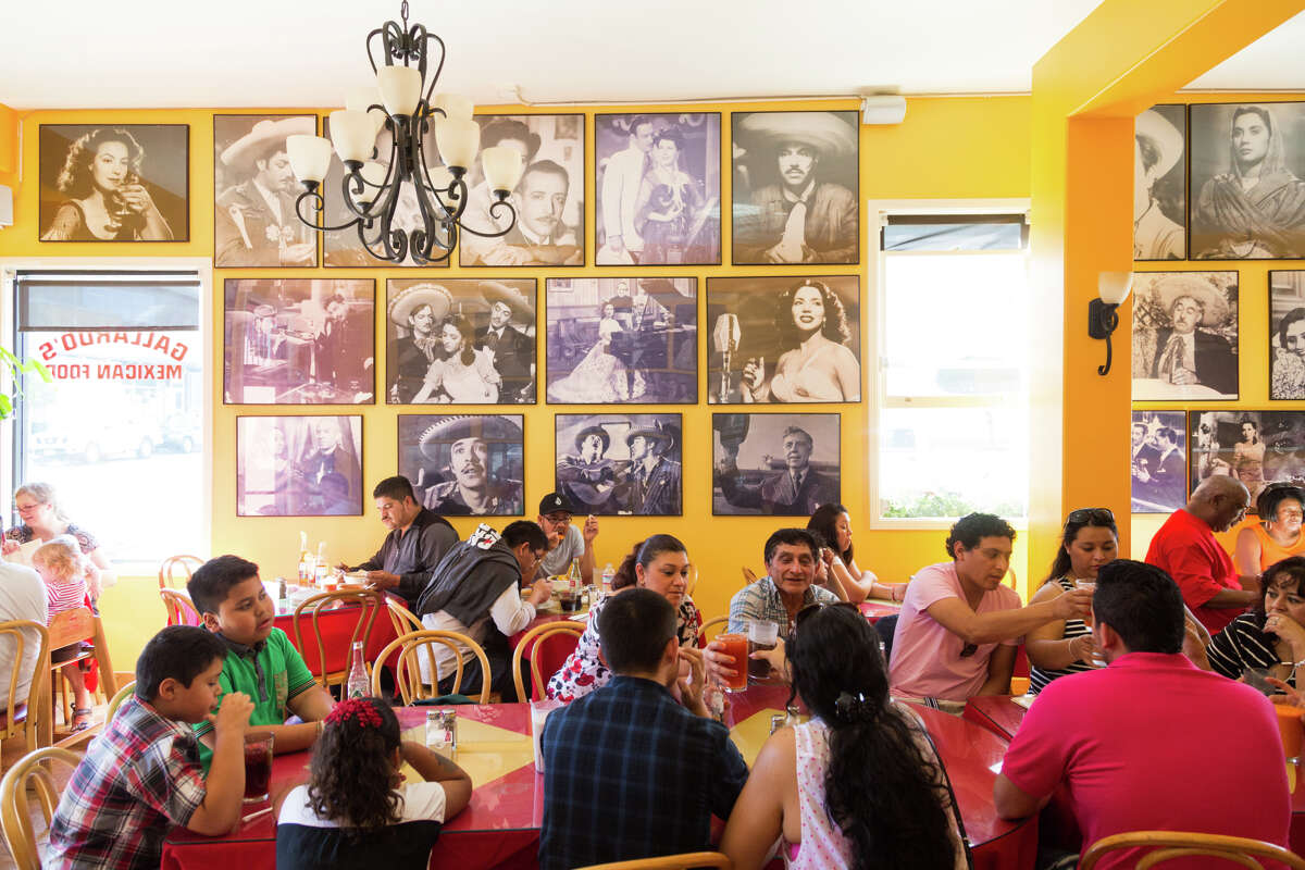 Families pack Gallardos for brunch on Sunday mornings when Jaliscan stews are served, and for items on the menu such as pozole, chilaquiles and house-made tortillas.
