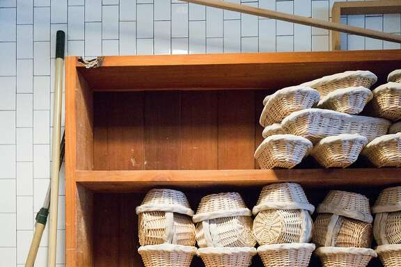Fresh baked bread on display at Bar Tartine during brunch in San Francisco Calif., Sunday, September 28, 2014