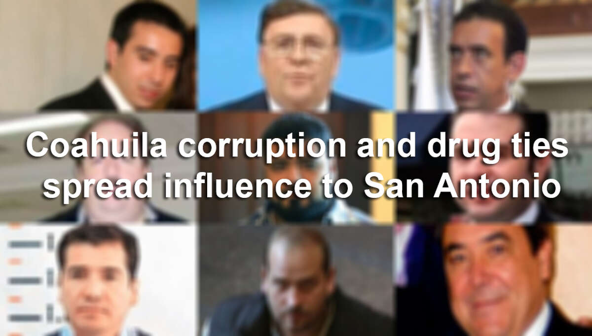 San Antonio is a safe haven for the upper class of the Mexican state of Coahuila, which has strong ties to Texas. Today, Coahuila is nearly $3 billion in debt and prosecutors on both sides of the border say former government officials and businessmen laundered tens of millions of dollars in South Texas. Click through the slideshow to see the players.