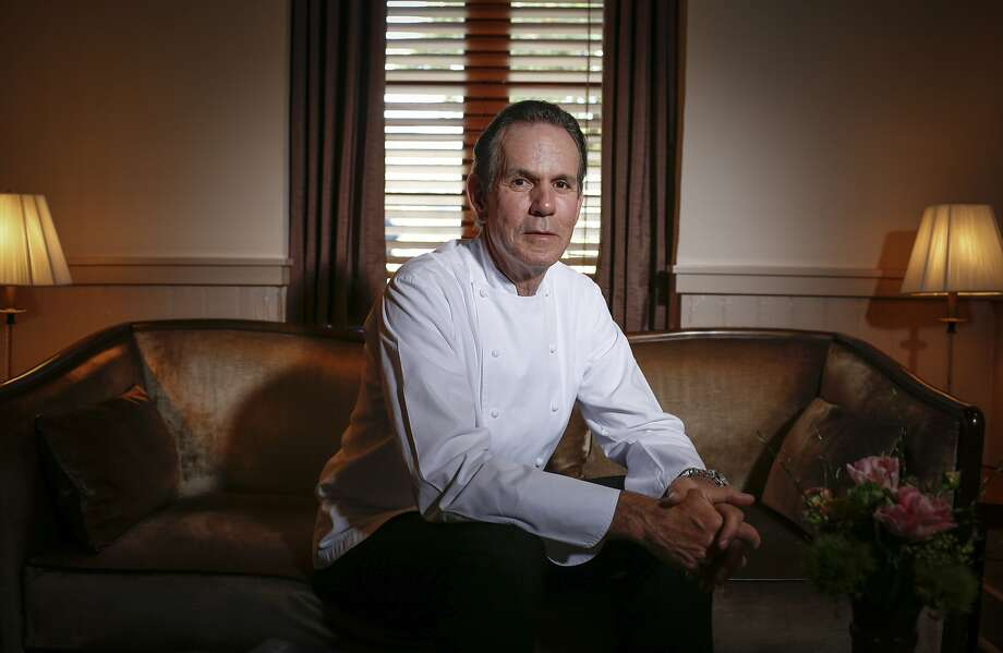 Chef Thomas Keller is seen in the foyer of The French Laundry on Wednesday, April 16, 2014 in Yountville, Calif. Photo: Russell Yip, The Chronicle