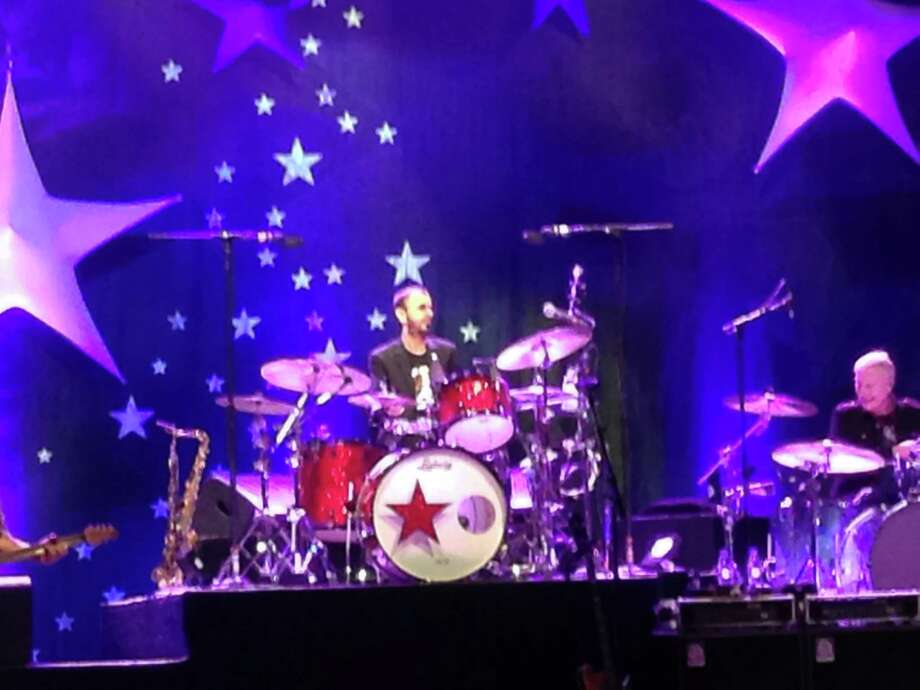 Ringo Starr performed with his All-Starr band at the Tobin Center for Performing Arts on October 7, 2014 Photo: Lorne Chan, San Antonio Express-News / San Antonio Express-News