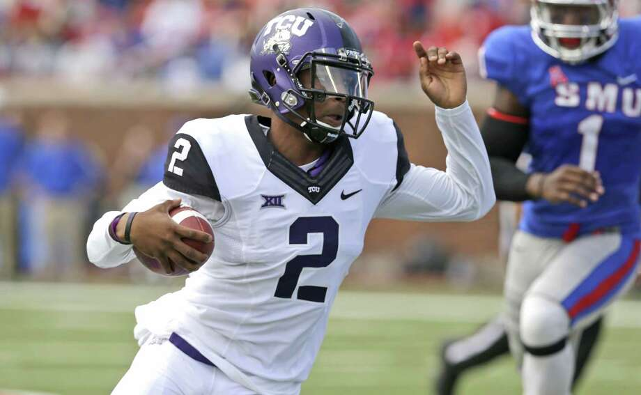Trevone Boykin has spearheaded the biggest offensive improvement of any FBS team this season. Photo: LM Otero, STF / AP