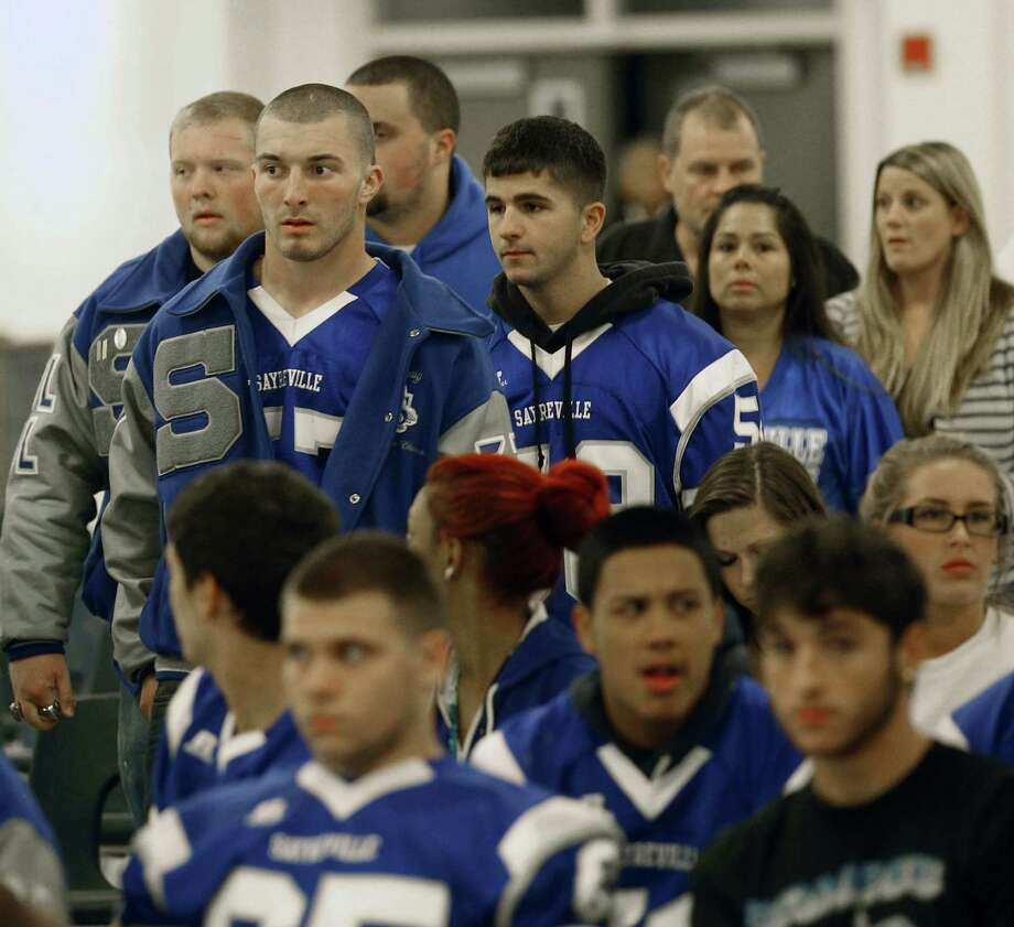 Sayreville High School in New Jersey had its football season canceled after allegations of rampant bullying. Photo: William Perlman, Associated Press / The Star-Ledger