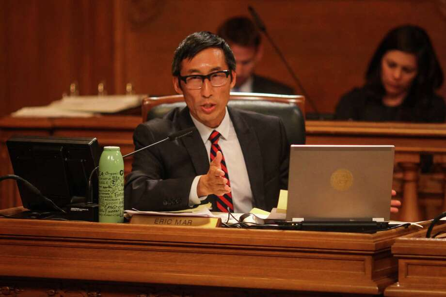 Supervisor Eric Mar. Photo: Sam Wolson / Special To The Chronicle / ONLINE_YES