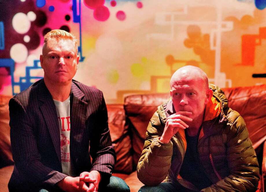 """Andy Bell, left, and Vince Clarke of Erasure released 16th studio album """"The Violet Flame"""" in September. Photo: Phil Sharpe"""