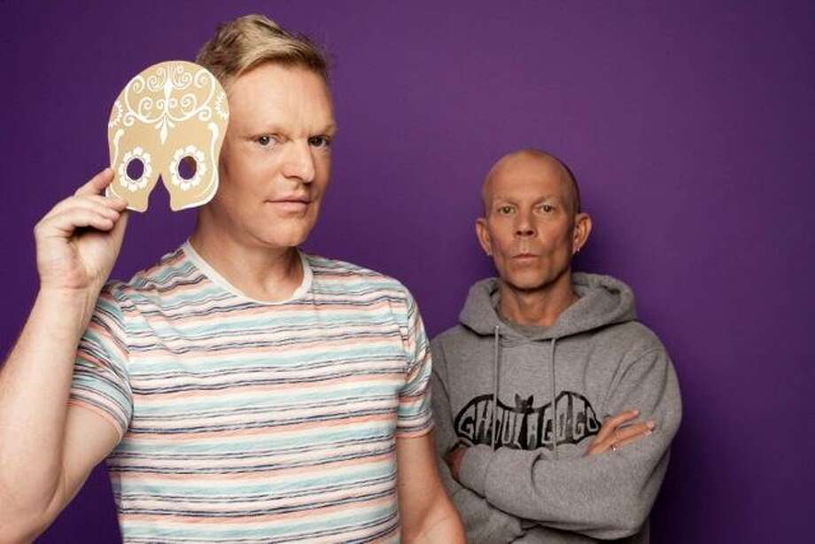 """Erasure - Andy Bell, left, and Vince Clarke - just released its 16th studio album, """"The Violet Flame."""" Photo: Joe Dilworth"""