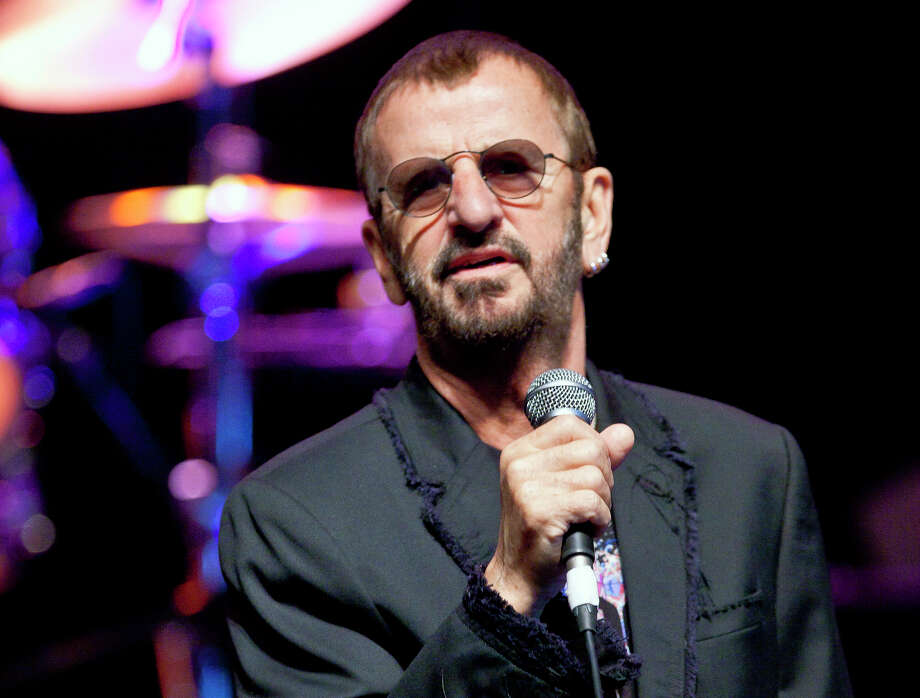 Ringo Starr and His All Star Band perform Friday at The Woodlands Pavilion. Photo: Joel Ryan, STF -end- / AP