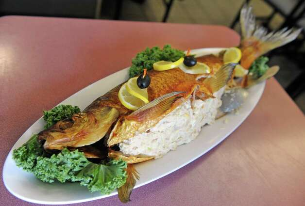 Smoked white fish at Gershon's Deli on Thursday Oct. 2, 2014 in Schenectady, N.Y.  (Michael P. Farrell/Times Union) Photo: Michael P. Farrell / 00028858A