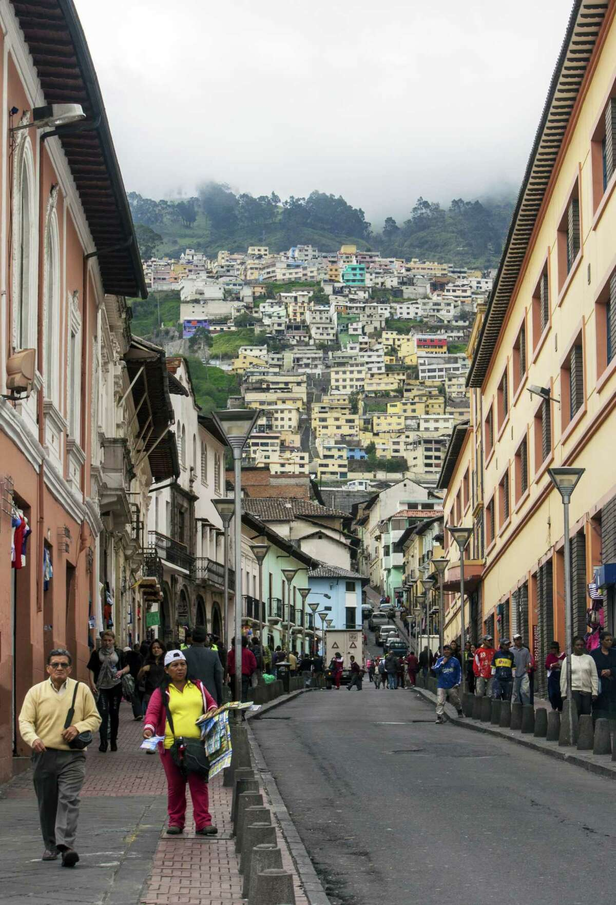 Quito offers a nicely preserved historic district.