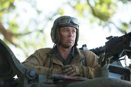 "Brad Pitt in the World War II film ""Fury"": Tanks, but no tanks, says one reader."