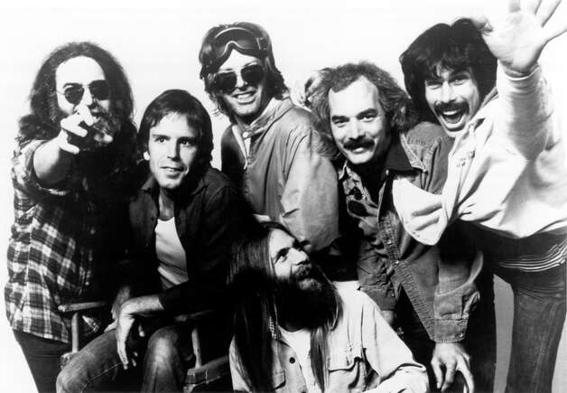 """Members of the Grateful Dead circa 1970s. At the time, the Grateful Dead were often promoted by iconic concert promoter Bill Graham, who owned the Fillmore West and Fillmore East. The Fillmore East, which sat on the Lower East Side of New York, was not far from Fairfield, and according to """"Lost Live Dead,"""" there were concerns that a show promoted in Fairfield would cause competition with shows performed by the Dead at the Fillmore East. The Grateful Dead performed two shows at the Fillmore East on May 15, 1970 - two days before the scheduled Fairfield concert. According to Arnold, this may have been why the concert was not as heavily promoted. There were also reports that the event instead took place at Clam Jam, a formerly student-sponsored event that took place at Fairfield Beach. In recent years, the event has become sponsored by the university and has featured the likes of the Chainsmokers and the Ying Yang Twins. Photo: GAB Archive, Getty Images / Glen A. Baker/Redferns."""
