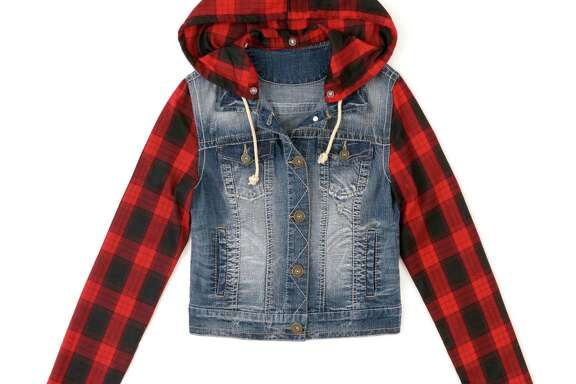 Bongo junior's denim jacket  $27.99 at Kmart and kmart.com
