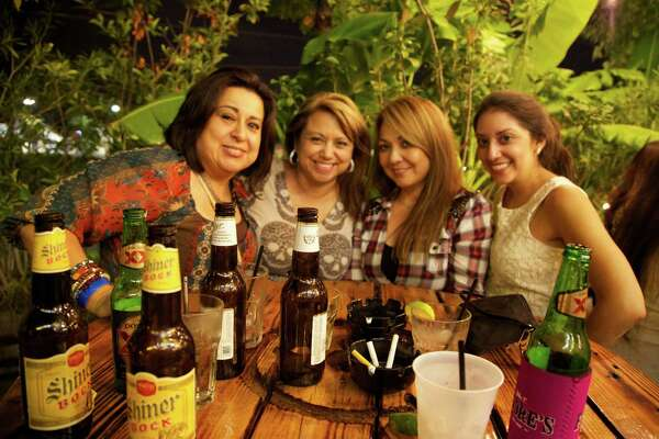 Cynthia G. (from left), Thelma Gutierrez, Nori Figueroa and Valleria Villasenor