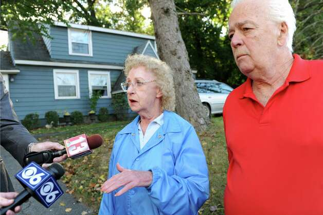 Rosalyn and Thomas Kowalski describe their neighbors at 1846 Western Ave. where a quadruple homicide took place on Wednesday, Oct. 8, 2014, in Guilderland, N.Y. (Cindy Schultz / Times Union) Photo: Cindy Schultz / 10028968A