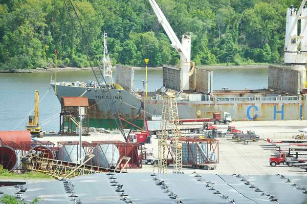 A view of the Port of Coeymans on Wednesday, Sept. 10, 2014, in Coeymans, N.Y.  (Paul Buckowski / Times Union) Photo: Paul Buckowski