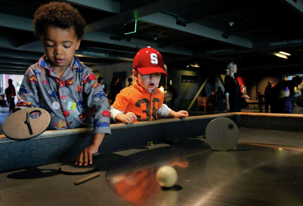 Exploratorium San Francisco Who among us doesn't remember stumbling through the tactile dome?