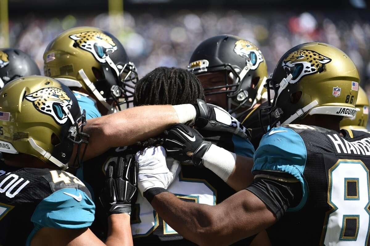 50. Jacksonville Jaguars, NFL Value: $1.48 billion Annual change: 53 percent