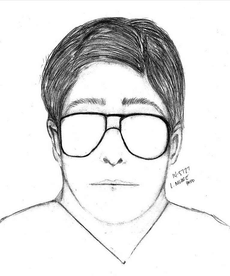 Police sketch of the suspect in one of two incidents this week in Palo Alto in which men exposed themselves to young girls. Photo: Palo Alto Police / Palo Alto Police / ONLINE_YES