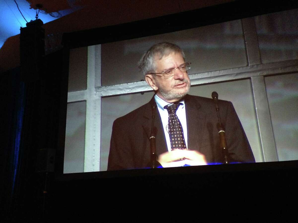 Alan Ehrenhalt, senior editor of Governing Magazine, addresses 900 attendees of the Central Houston annual meeting at the Hilton Americas-Houston on Oct. 8.