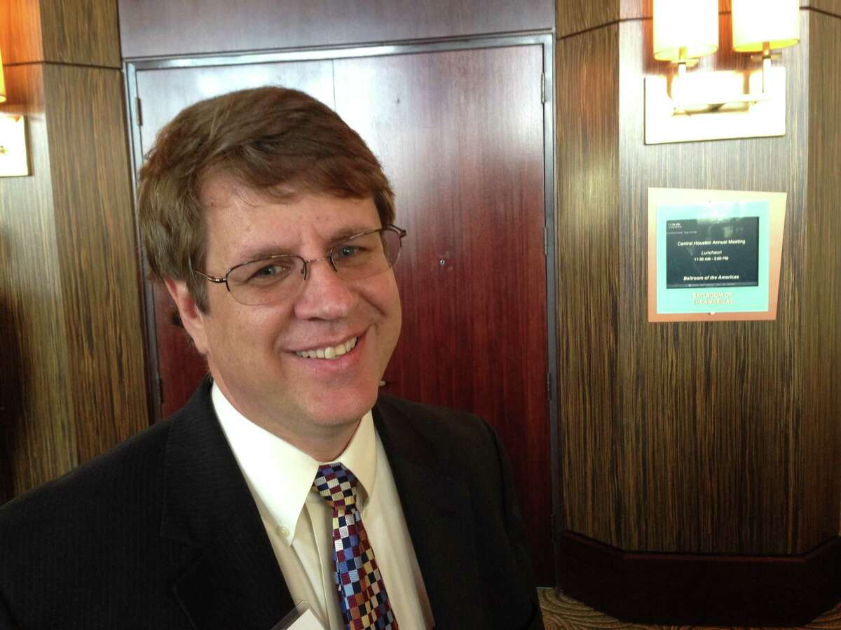 Patrick Jankowski, vice president of research at the Greater Houston Partnership.