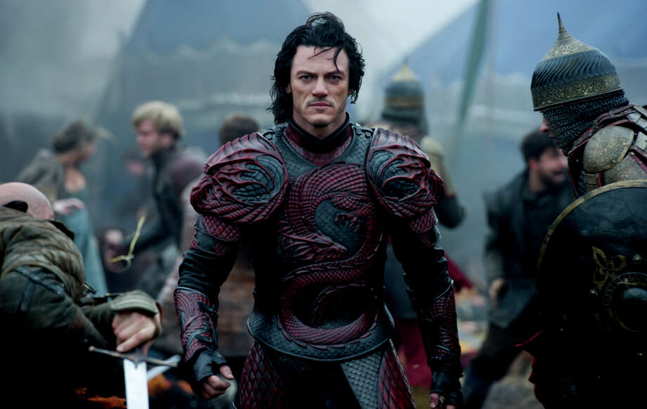 "LUKE EVANS stars as Vlad in ""Dracula Untold"", the origin story of the man who became Dracula. Gary Shore directs and Michael De Luca produces the epic action-adventure. Photo: Jasin Boland / ONLINE_CHECK"