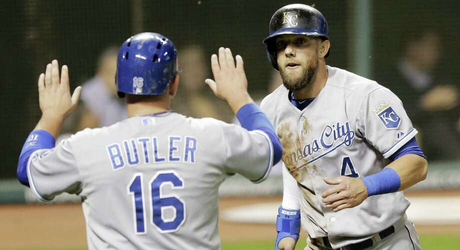The Royals' Billy Butler and Alex Gordon endured seven years years of building and rebuilding before reaching the postseason. Photo: Tony Dejak / Associated Press / AP
