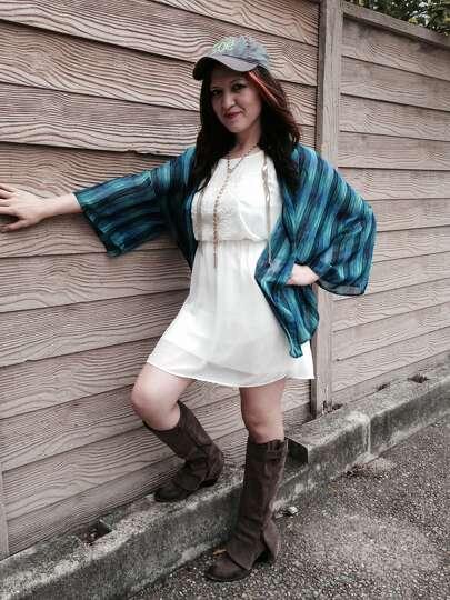Nicole Vargas College Fashionista Monica Nicole Vargas piles on