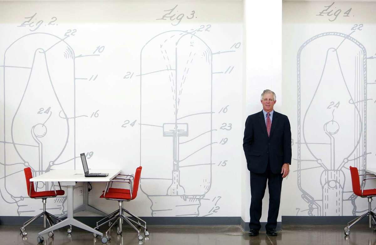Dr. Robert Robbins, the Texas Medical Center President and CEO, stands in the new TMC incubator on Tuesday, Oct. 7, 2014, in Houston. The business incubator is being developed to bring in more health care-related startups to the Houston area. ( Mayra Beltran / Houston Chronicle )