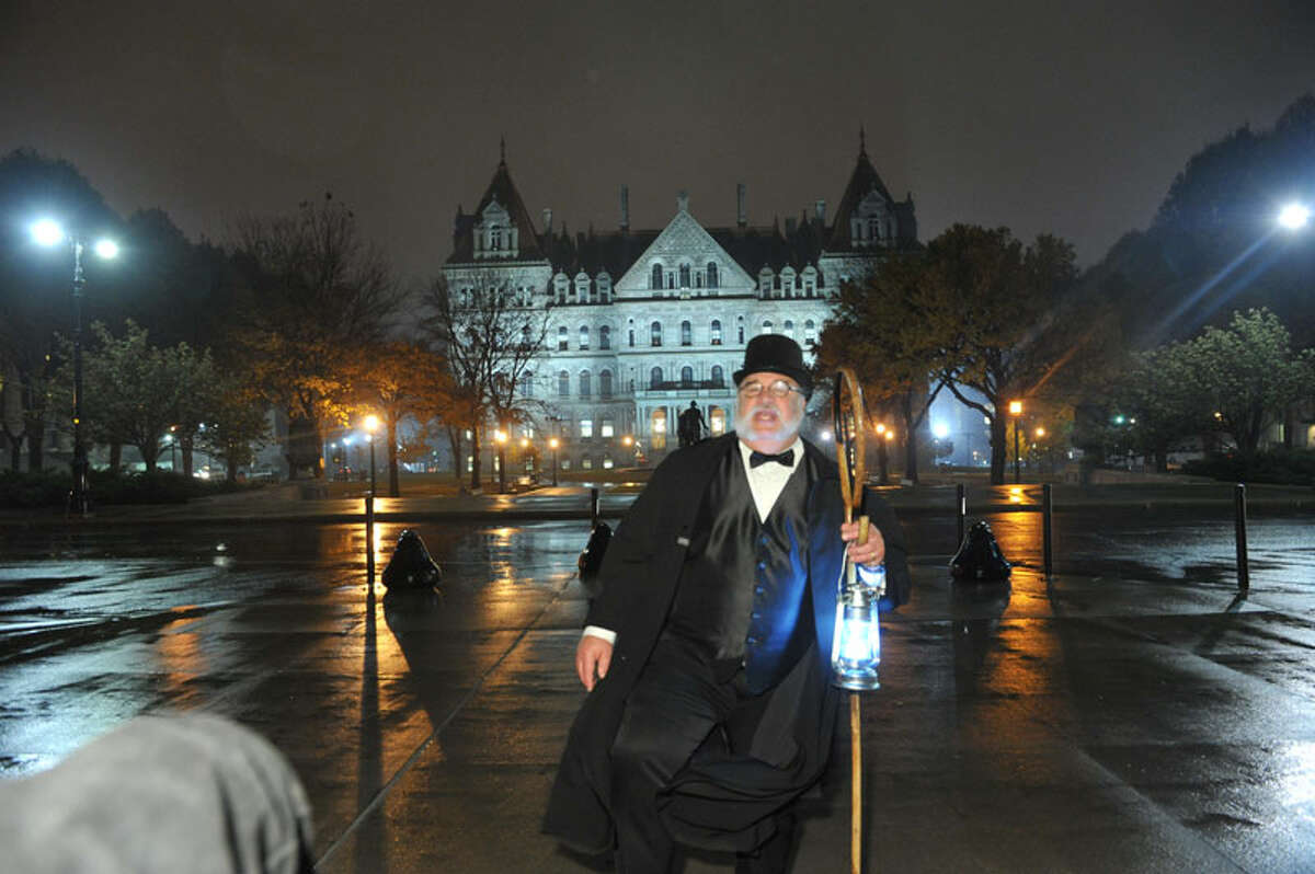 The Ghosts of Albany tour lets you experience a spooky night out in our Capital city. Tours start at the Hilton Albany Hotel, 40 Lodge St., Albany. Click for tour dates and times.